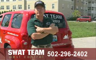 Charlie from Swat Team Pest Control, Kentucky